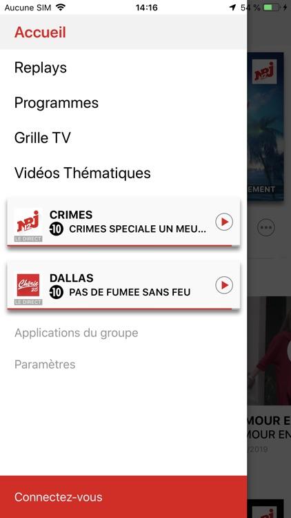 NRJ Play, en direct & replay screenshot-4
