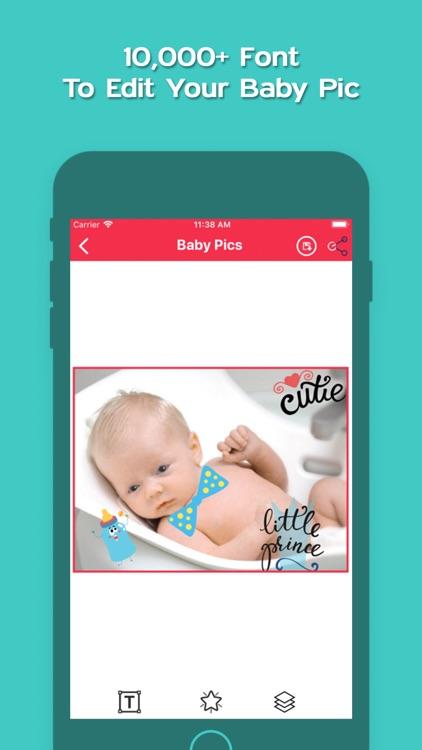 Baby Story Pic Editor 2019 screenshot-4