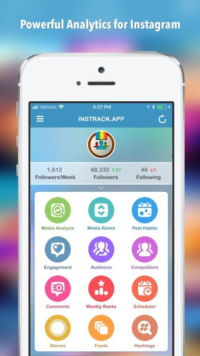 Screenshot for InsTrack for Instagram in Lebanon App Store