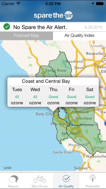 Spare the Air Bay Area screenshot-4