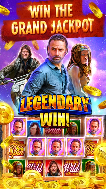 The Walking Dead Casino Slots screenshot-4