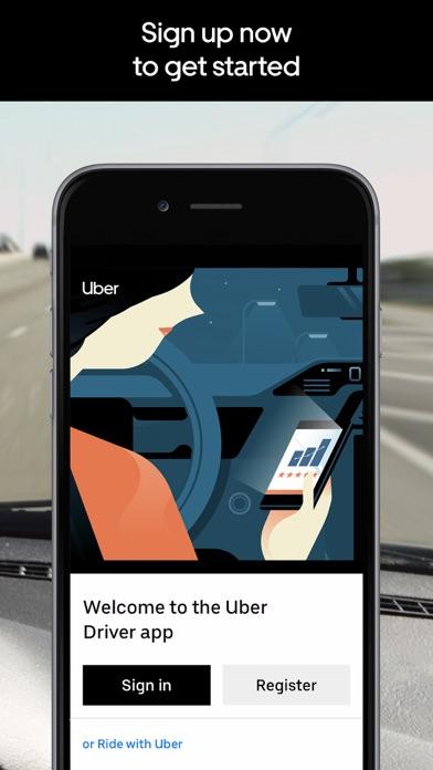 Uber Driver Screenshot on iOS