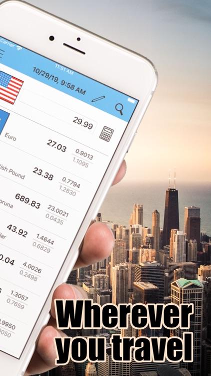 Currencies - money converter screenshot-1