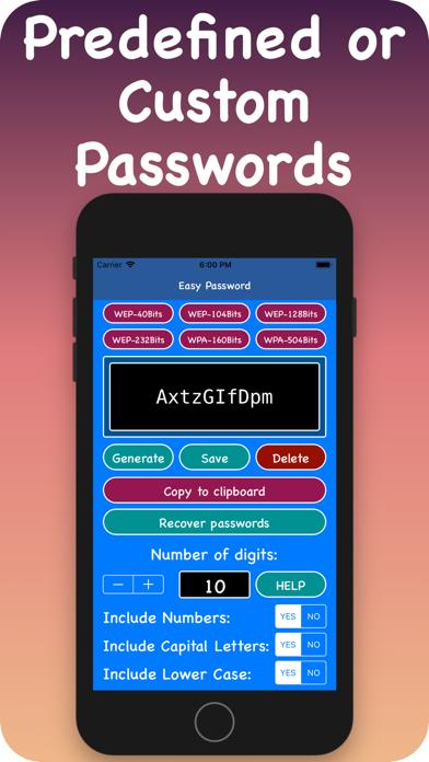 Passwords Sorted screenshot 2