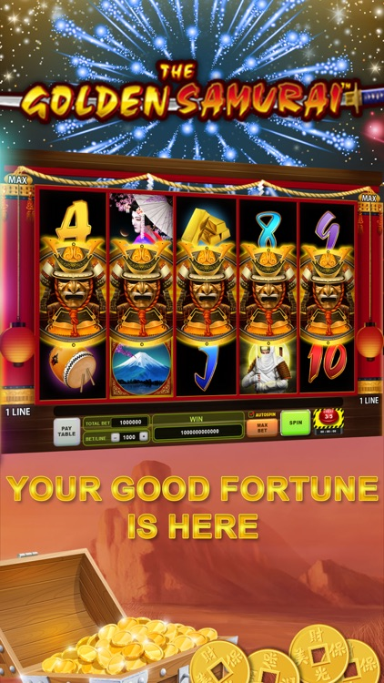 Good Fortune Slots Casino Game screenshot-3