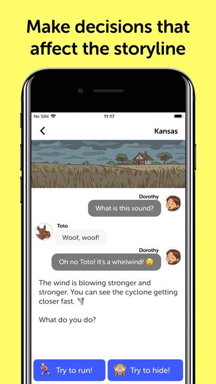 Wizard Of Oz - Chat Book screenshot-3