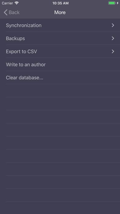 Expenses OK - expenses tracker screenshot three