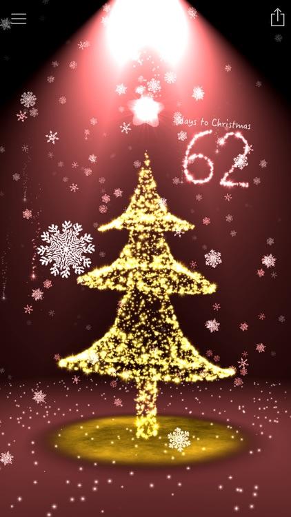 Christmas Countdown 3D Tree screenshot-0