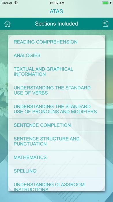 ATAS & NYSTCE  Practice Tests screenshot 8