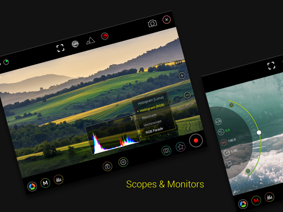 MoviePro - Pro Video Recorder Screenshots