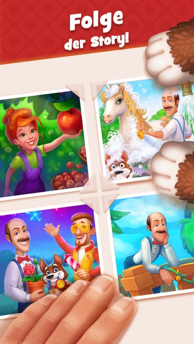 Screenshot for Gardenscapes in Austria App Store
