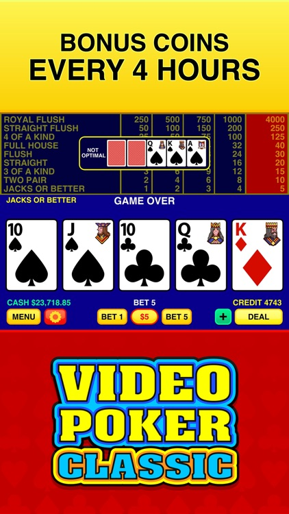 Video Poker Classic - 39 Games screenshot-3