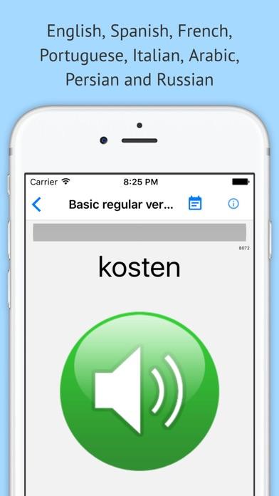 Verben - Trainer PRO screenshot three