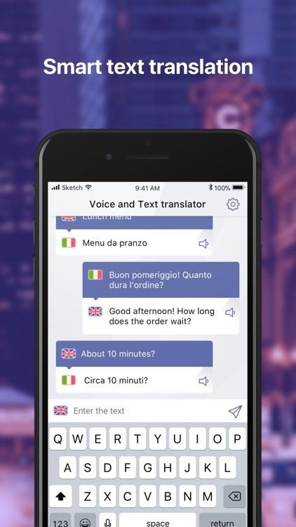 Voice and Text Translator App screenshot-3
