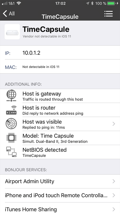 iNet Pro - Network Scanner Screenshots