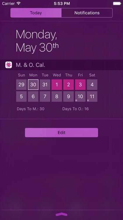 Menstrual Period Tracker screenshot-4