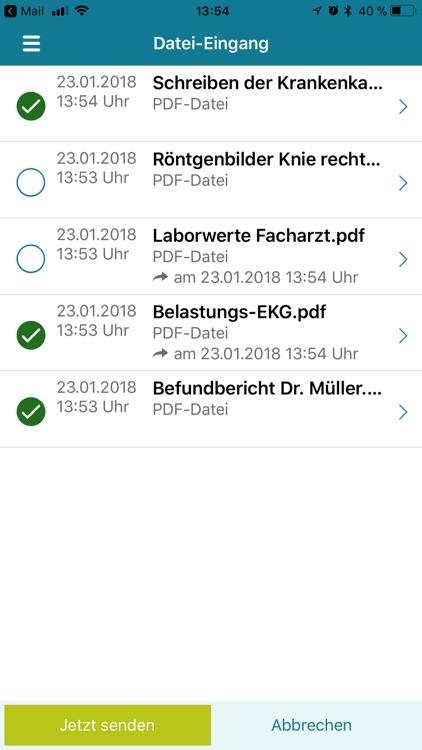 Patienten-App x.patient screenshot-4
