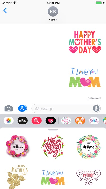 Best Mothers Day Stickers App