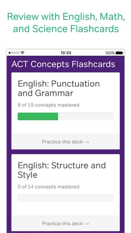 ACT Prep Coach & Practice Test screenshot-3