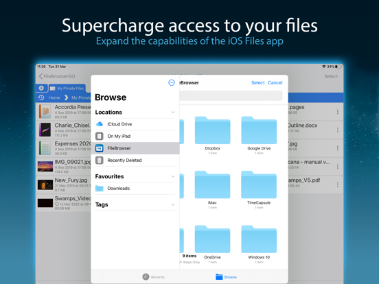 FileBrowser - Access files on remote computers screenshot
