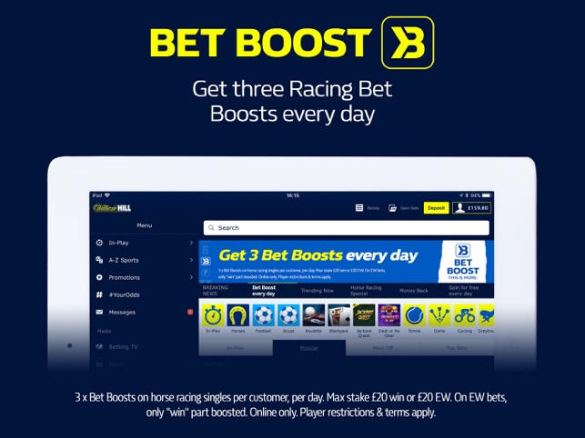 William Hill Sports Betting on the App Store
