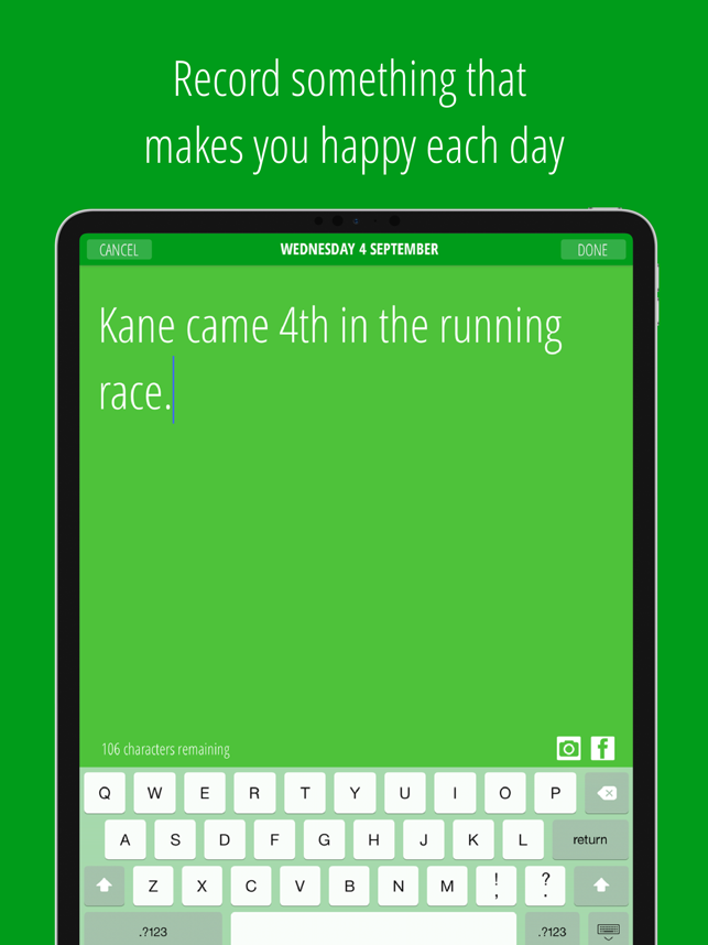 ‎The Happy App Screenshot