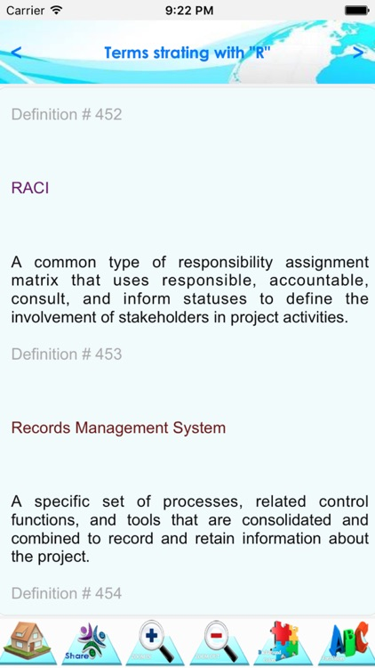 Project Management Terminology screenshot-4