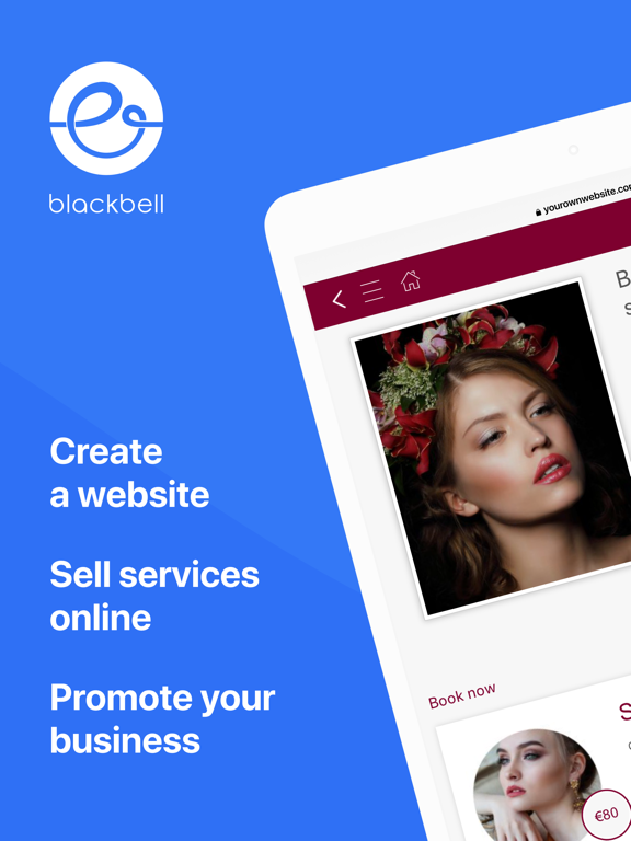 Blackbell - Website Builder screenshot