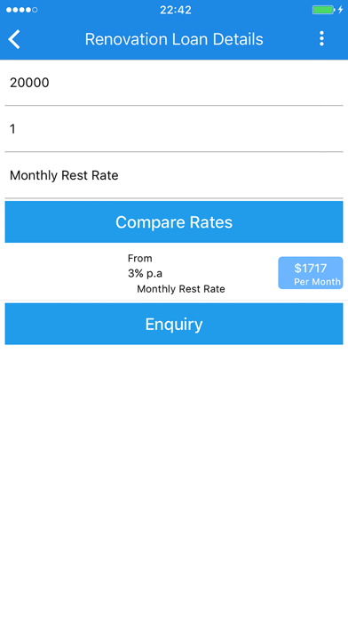 LoanCompareSG screenshot two