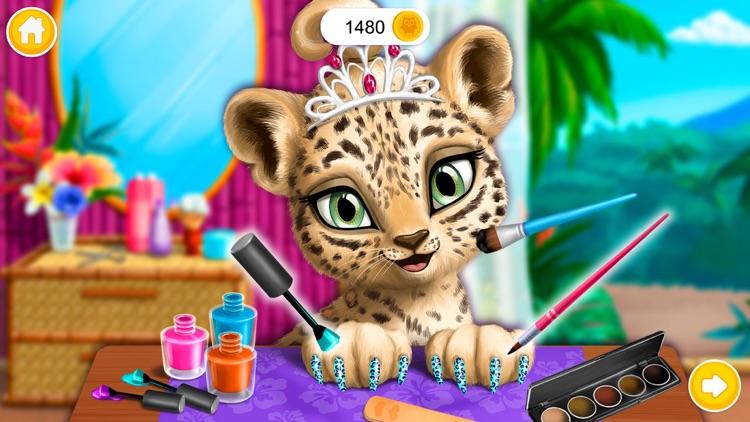 Jungle Animal Hair Salon! screenshot-0