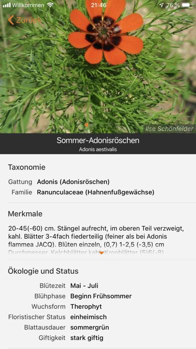 Screenshot for Flora Incognita in Germany App Store
