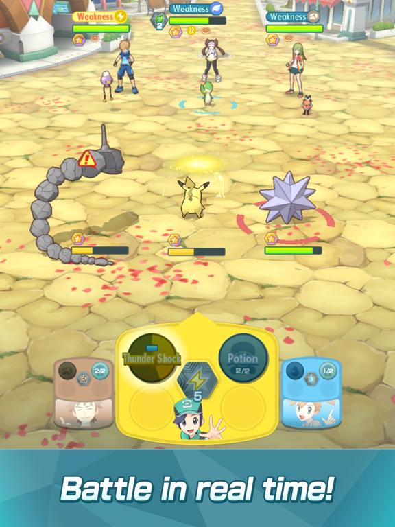 Pokémon Masters screenshot 14