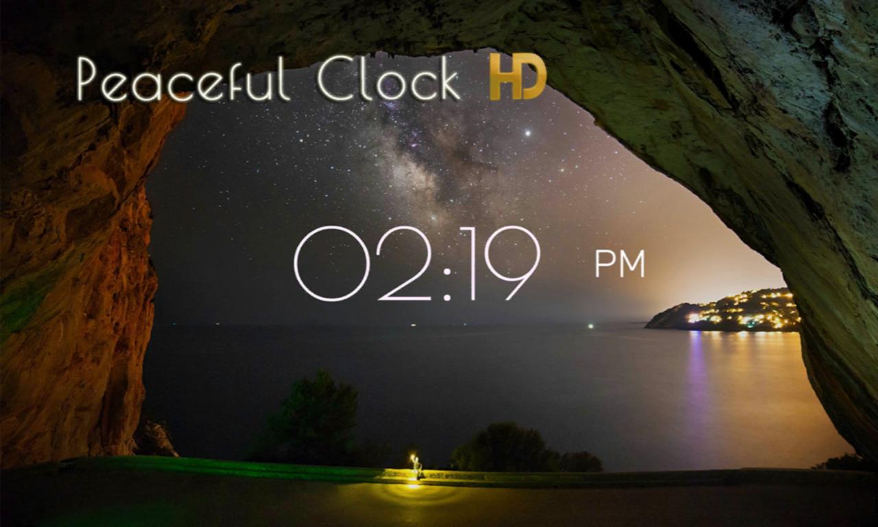 Peaceful Clock HD