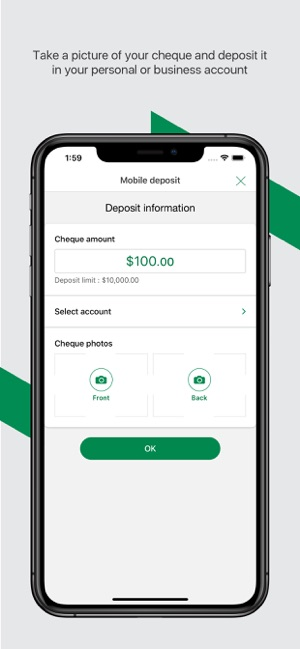 Desjardins mobile services on the App Store