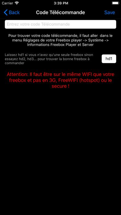 messages.download Zapette pour Freebox software