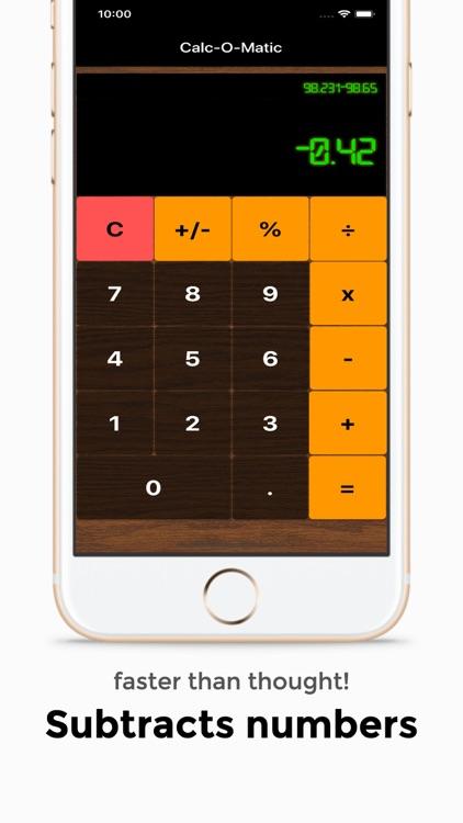 Retro Calc basic calculator