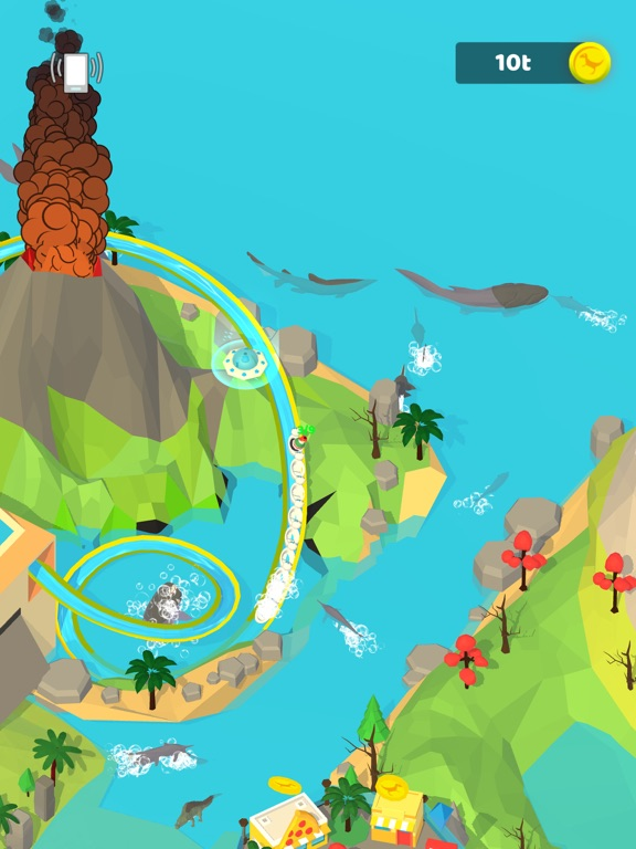 Idle Dino Theme Park screenshot 8