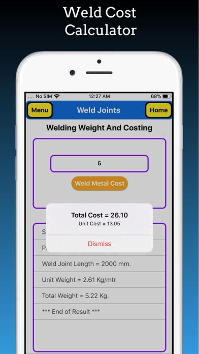 Welding Weight Calculator screenshot 9