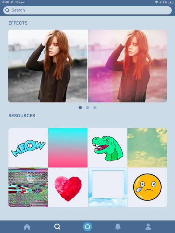iPad Image of Avatan - Photo Editor, Retouch
