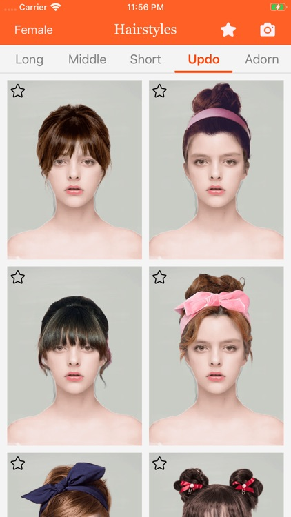 Hairstyle try on-hair color screenshot-4
