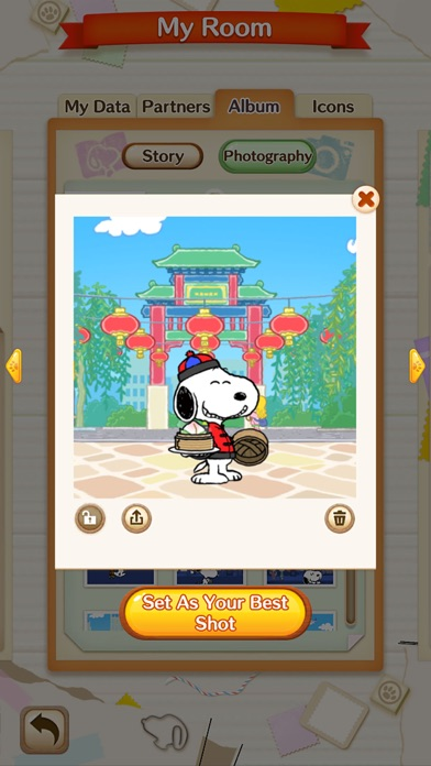 SNOOPY Puzzle Journey screenshot 3
