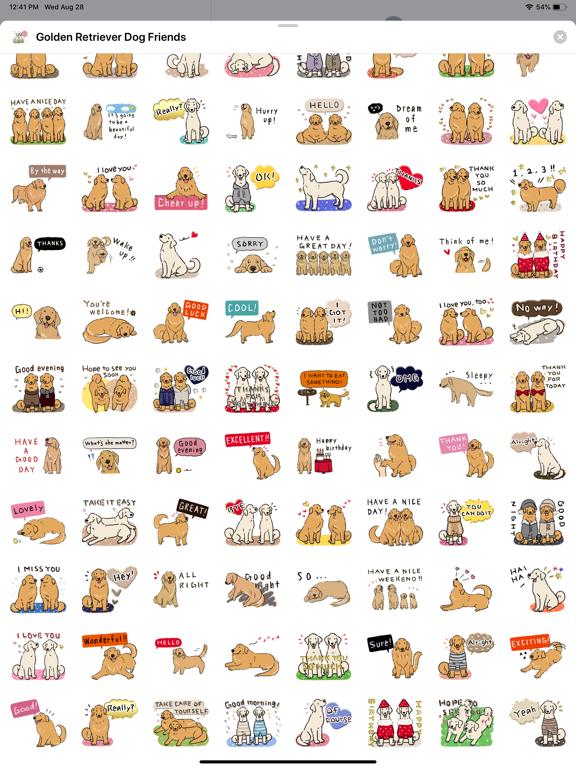 Golden Retriever Dog Friends screenshot 9