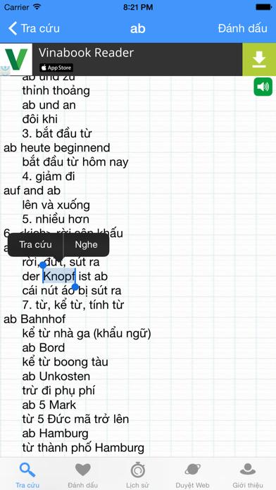 GVEDict - Từ Điển Đức Việt screenshot two