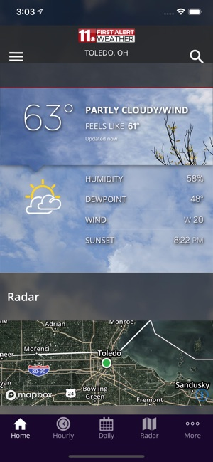 channel 11 toledo weather radar