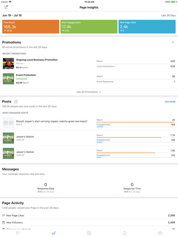 Facebook Pages Manager-ipad-1