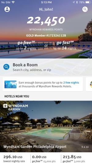 Wyndham Rewards on the App Store