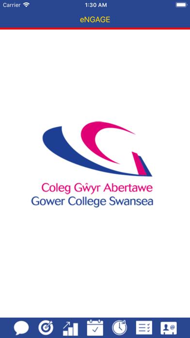 eNGAGE - Gower College Swansea screenshot one