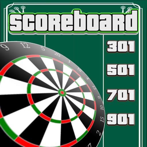 Darts Scorekeeper 501 x01