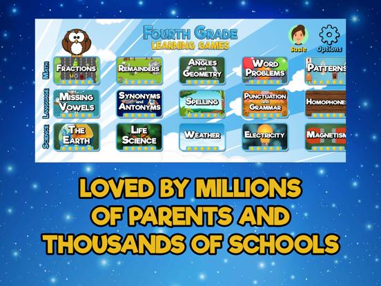 Fourth Grade Learning Gamesのおすすめ画像3