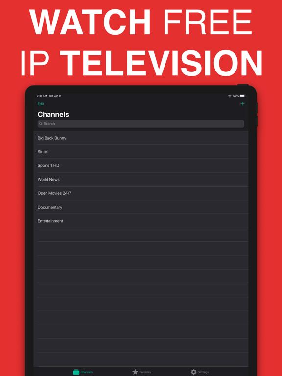 Screenshot #4 pour TV Stream Pro: IPTV゜ en direct